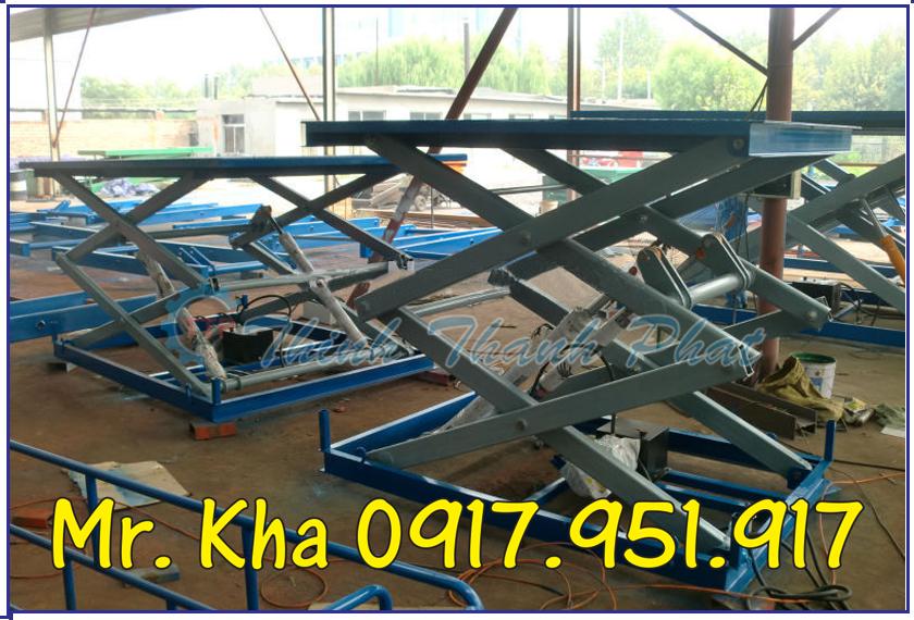 Ban nang hang 4000kg ttp01