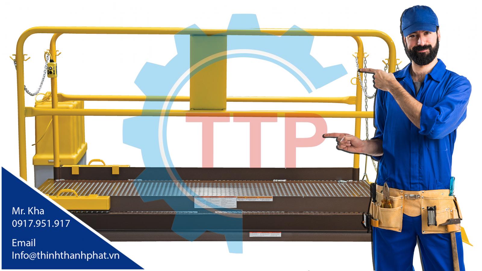Bàn nâng thủy lực TTP02