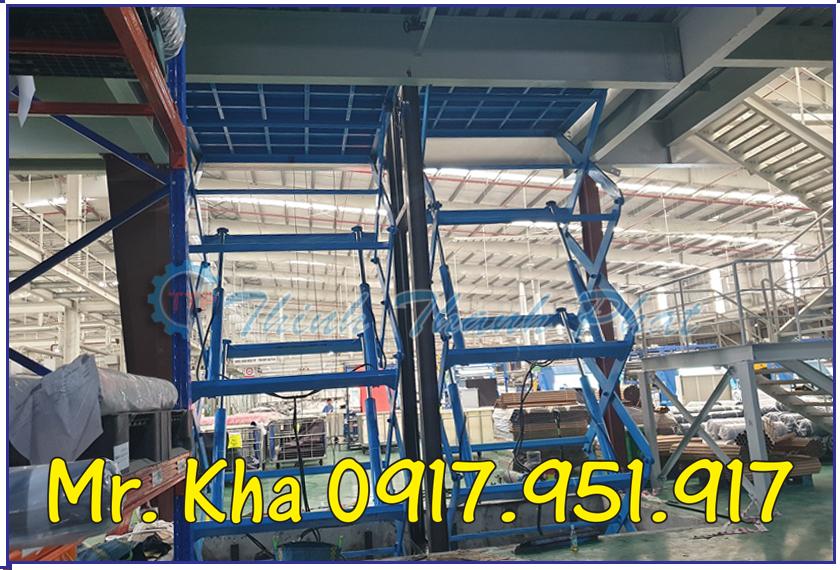 Thang nang thuy luc cargo scissor lift 02