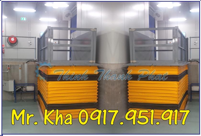 BÀN NÂNG THỦY LỰC 750KG
