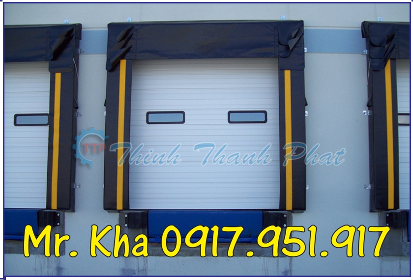 Bạt che Container - Dock Seals