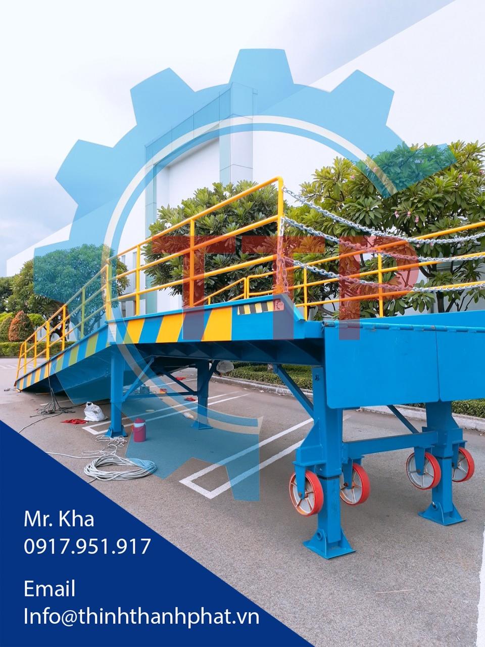 Cầu đóng rút ruột container (Cầu container)