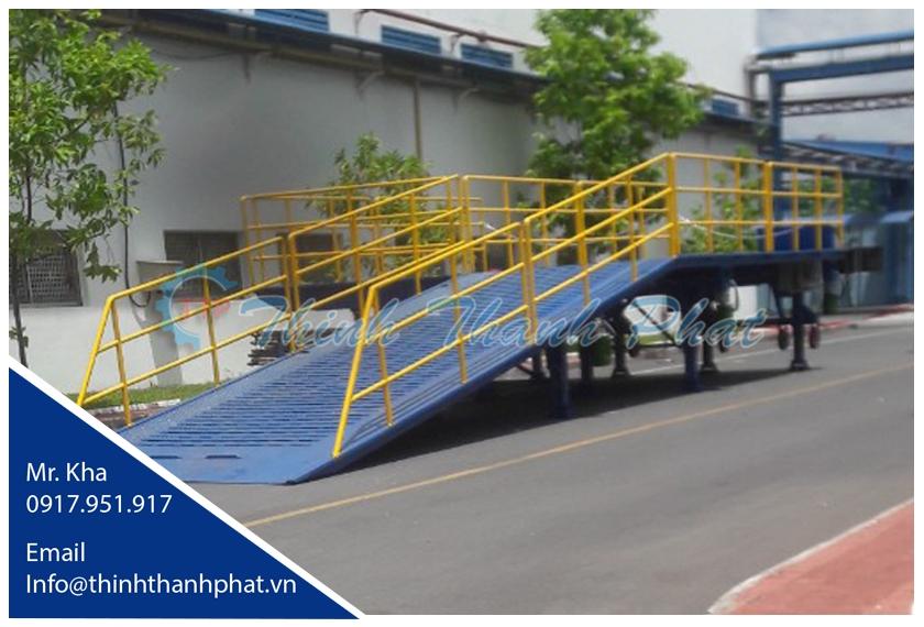 Cầu xe nâng - Yard ramp