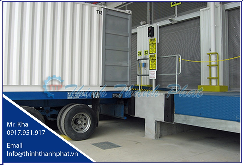 Sàn nâng thủy lực nhập khẩu - MHE / BLUE GIANT Dock Leveler